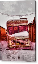 Acrylic Print featuring the photograph No More Deliveries by Jeff Swan