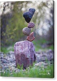 Zen Stack #4 Acrylic Print