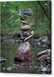 Zen Stack #8 Acrylic Print