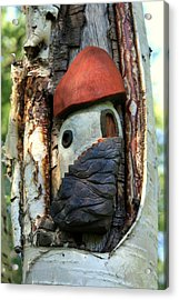 No Place Like Gnome Home Iv Acrylic Print by Eric Knowlton