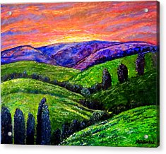 No Place Like The Hills Of Tennessee Acrylic Print by Kimberlee Baxter
