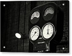 Acrylic Print featuring the photograph No Pressure by Tim Nichols