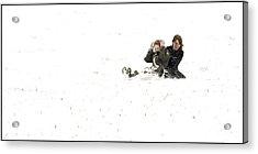 No School Today Acrylic Print by Aleck Rich Seddon