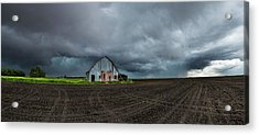 Acrylic Print featuring the photograph No Shelter Here by Aaron J Groen