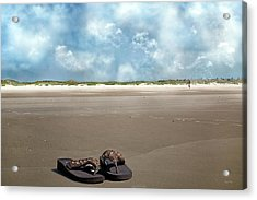No Shoes Required Acrylic Print