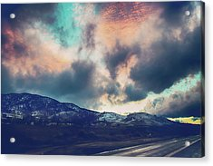 Acrylic Print featuring the photograph No Stopping Us Now by Laurie Search