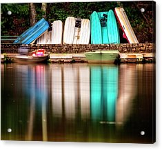 Acrylic Print featuring the photograph No Takers by Alan Raasch
