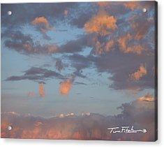 No Tears In Heaven Acrylic Print