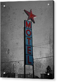 No Tell Motel Acrylic Print