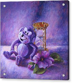 No Time To Monkey Around Acrylic Print