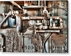 No Work For Me Acrylic Print by Sandra Bronstein
