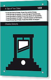 No009 My Tale Of Two Cities Book Icon Poster Acrylic Print