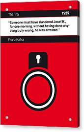No013-my-the Trial-book-icon-poster Acrylic Print