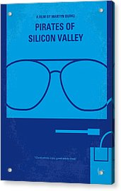 No064 My Pirates Of Silicon Valley Minimal Movie Poster Acrylic Print