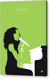 No066 My Alicia Keys Minimal Music Poster Acrylic Print