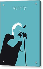 No095 My The Offspring Minimal Music Poster Acrylic Print