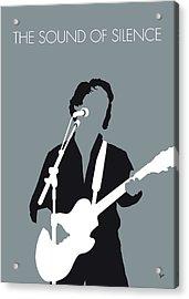 No097 My Paul Simon Minimal Music Poster Acrylic Print