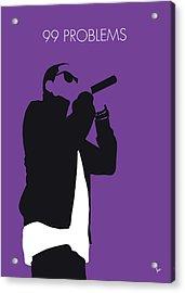 No101 My Jay-z Minimal Music Poster Acrylic Print