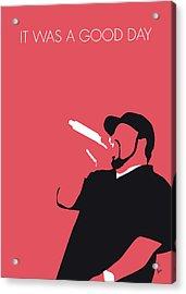 No132 My Ice Cube Minimal Music Poster Acrylic Print