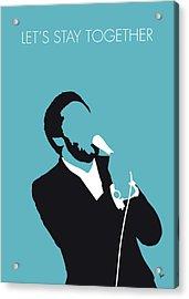 No135 My Al Green Minimal Music Poster Acrylic Print