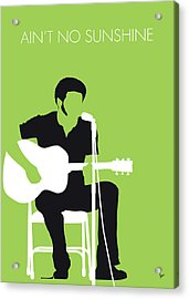 No156 My Bill Withers Minimal Music Poster Acrylic Print
