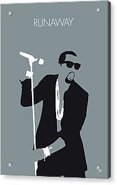 No157 My Kanye West Minimal Music Poster Acrylic Print