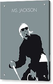 No167 My Outkast Minimal Music Poster Acrylic Print