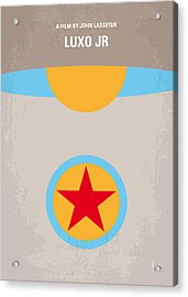 No171 My Luxo Jr Minimal Movie Poster Acrylic Print