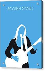 No209 My Jewel Minimal Music Poster Acrylic Print