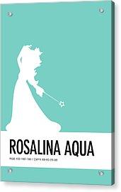 No39 My Minimal Color Code Poster Rosalina Acrylic Print