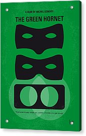 No561 My The Green Hornet Minimal Movie Poster Acrylic Print