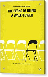 No575 My Perks Of Being A Wallflower Minimal Movie Poster Acrylic Print by Chungkong Art