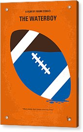No580 My The Waterboy Minimal Movie Poster Acrylic Print by Chungkong Art