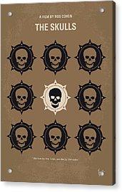 No662 My The Skulls Minimal Movie Poster Acrylic Print
