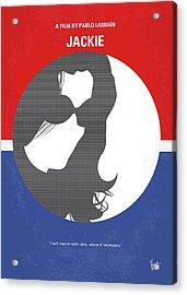 No755 My Jackie Minimal Movie Poster Acrylic Print