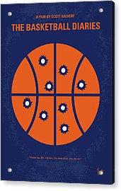 No782 My The Basketball Diaries Minimal Movie Poster Acrylic Print