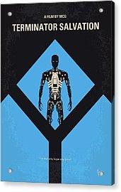 No802-4 My The Terminator 4 Minimal Movie Poster Acrylic Print