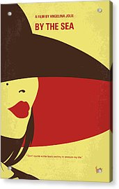 No805 My By The Sea Minimal Movie Poster Acrylic Print