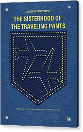 No826 My The Sisterhood Of The Traveling Pants Minimal Movie Poster Acrylic Print