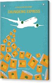 No835 My Chungking Express Minimal Movie Poster Acrylic Print