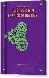 No863 My The Pick Of Destiny Minimal Movie Poster Acrylic Print