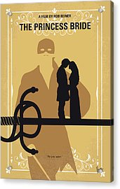 No877 My The Princess Bride Minimal Movie Poster Acrylic Print