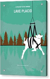 No944 My Lake Placid Minimal Movie Poster Acrylic Print
