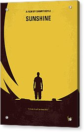 No947 My Sunshine Minimal Movie Poster Acrylic Print