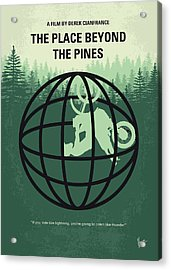 No954 My The Place Beyond The Pines Minimal Movie Poster Acrylic Print