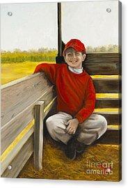 Noah On The Hayride Acrylic Print