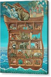 Noahs Arc Acrylic Print