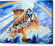 Noahs Ark Acrylic Print