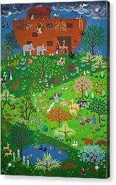 Noahs Ark Acrylic Print by Isolda Nouel