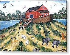 Noah's Ark Acrylic Print by Linda Mears